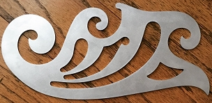 Sterling Toolworks Roubo Curves Series 2 - Detail Curve