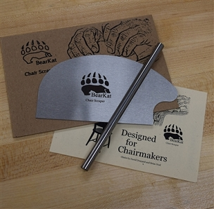 BearKat Chairmakers Card Scraper and Burnisher