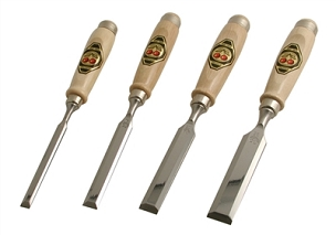 Two Cherries Set of Four Chisels
