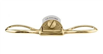 Lie-Nielsen Small Bronze Spokeshave - Curved Sole
