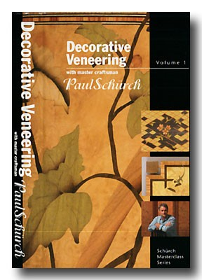Paul Schurch 2 DVD set - Decorative Veneering and Marquetry