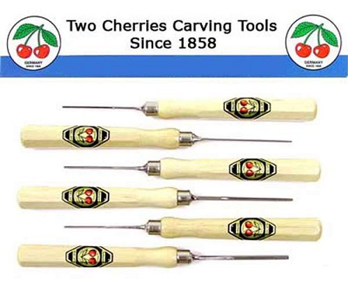 Two Cherries Micro Carving Tool Set/6